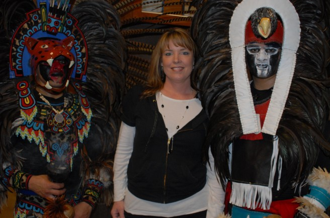 The Wild Mind Meets the Aztec Dancers - April 2009